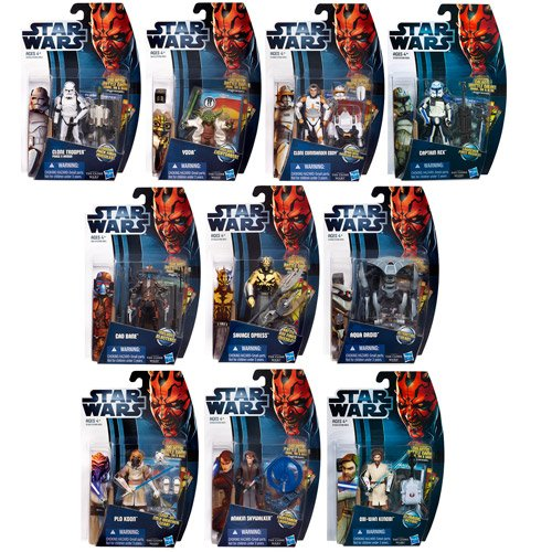 Star Wars Clone Wars 2012 Action Figures Wave 4 Revision 2