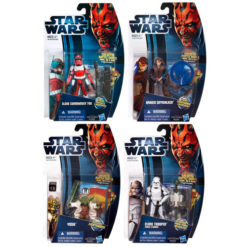 Star Wars Clone Wars 2012 Action Figures Wave 4 Revision 4