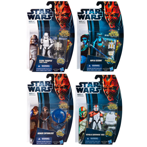 Star Wars Clone Wars 2012 Action Figures Wave 4 Revision 5