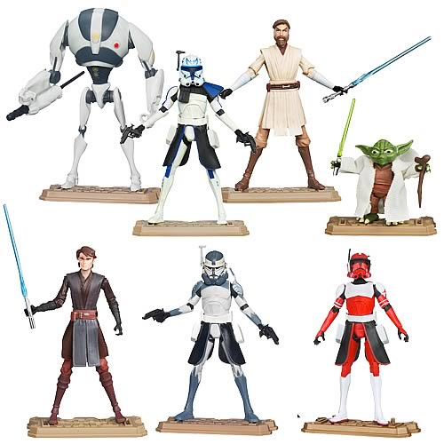 Star Wars Clone Wars 2012 Action Figures Wave 4