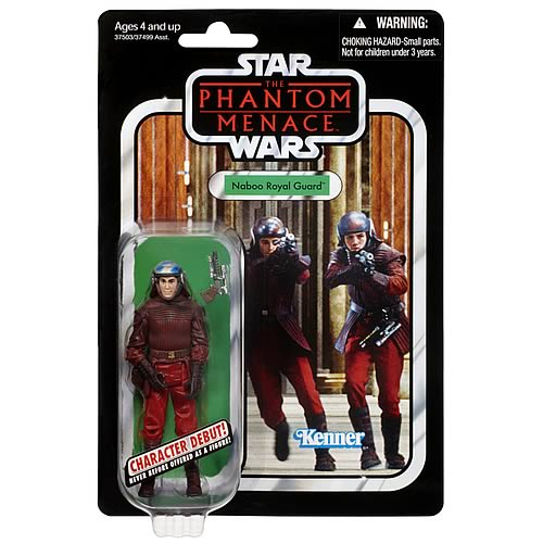 Star Wars Naboo Royal Guard Vintage Action Figure