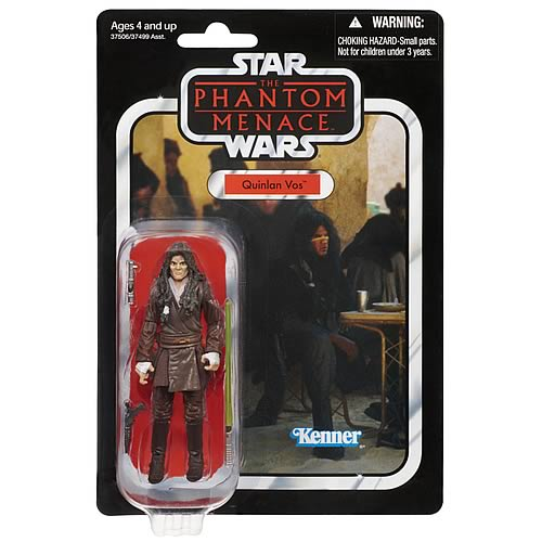 Star Wars Quinlan Vos Vintage Action Figure