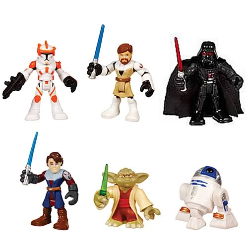 Star Wars Jedi Force Single Mini-Figures Wave 1