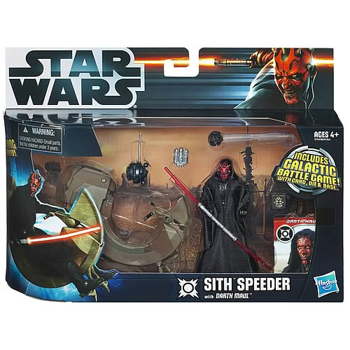 Star Wars Sith Speeder Vehicle with Darth Maul