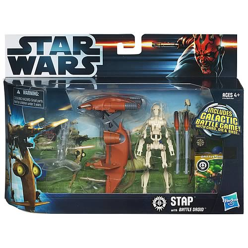 Star Wars STAP Vehicle with  Battle Droid Figure