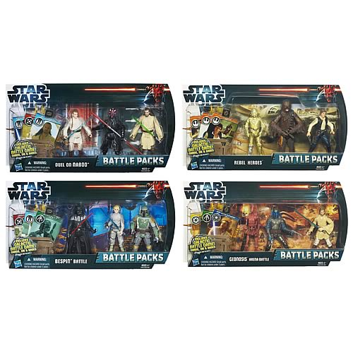 Star Wars Battle Packs 2012 Wave 2 Revision 1