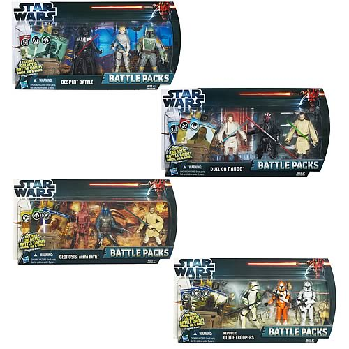 Star Wars Battle Packs 2012 Wave 2