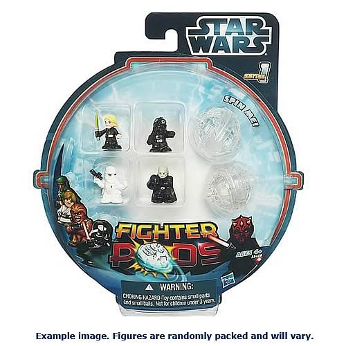 Star Wars Fighter Pods Battle Figures 4-Pack Series 3 Rev. 1