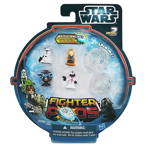 Star Wars Fighter Pods Battle Figures 4-Pack Series 2