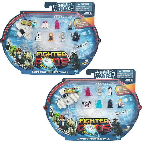 Star Wars Fighter Pods Battle Figures 8-Packs Wave 2 Set