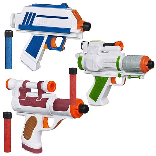 Star Wars Action Blasters 2012 Wave 1 Set