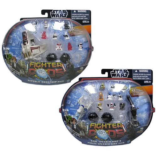 Star Wars Fighter Pods Battle Figures 12-Packs Wave 2 Set
