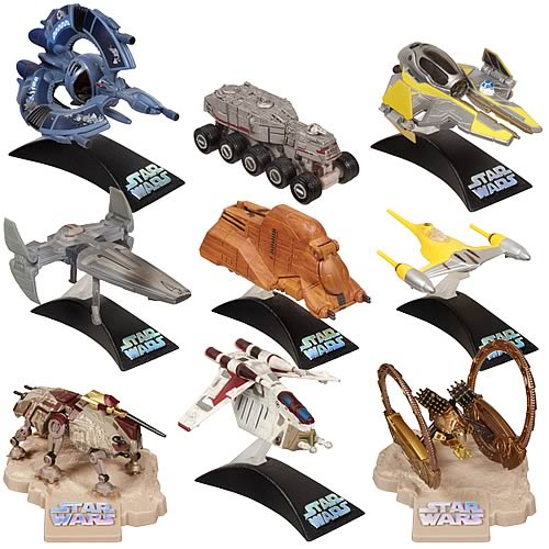 Star Wars Titanium Series Vehicle 3-Packs Wave 1