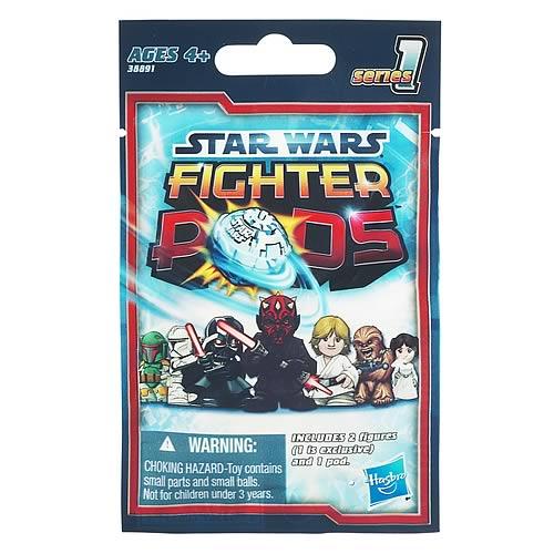 Star Wars Fighter Pods Battle Figures Bag Series 1 Case