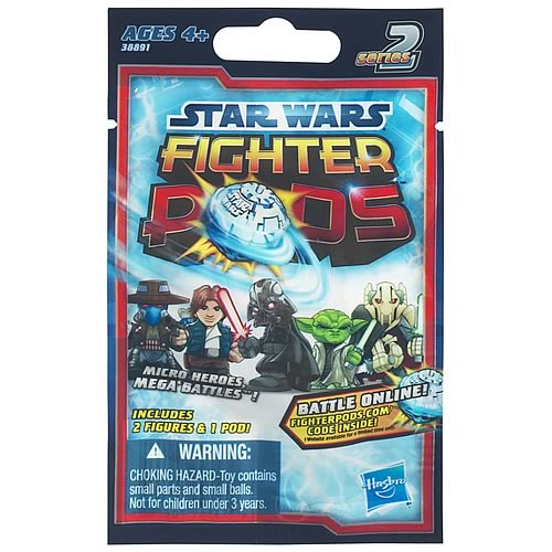 Star Wars Fighter Pods Battle Figures Bag Series 2 Rev. 2