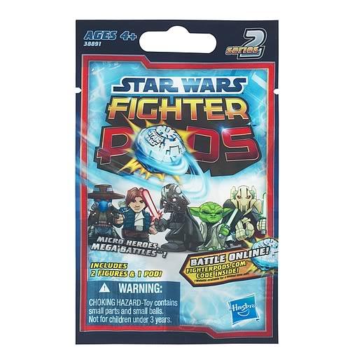 Star Wars Fighter Pods Battle Figures Bag Series 2 Rev. 3