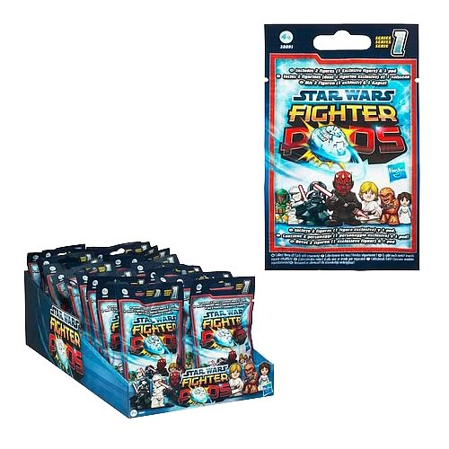 Star Wars Fighter Pods Battle Figures Bag Series 2 Case