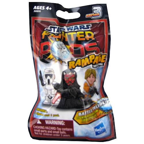 Star Wars Fighter Pods Battle Figures Bag Series 3 Case