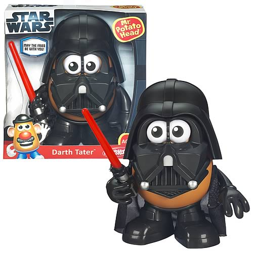 Star Wars Darth Vader Mr. Potato Head Darth Tater, Not Mint