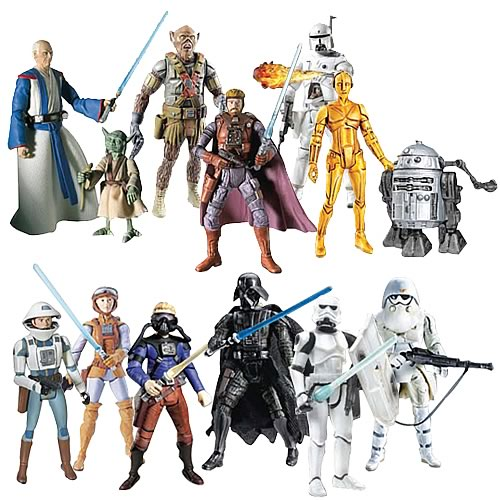 Star Wars McQuarrie Concept Action Figures Exclusive