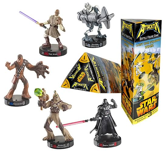 Star Wars Attacktix Booster Pack Assortment