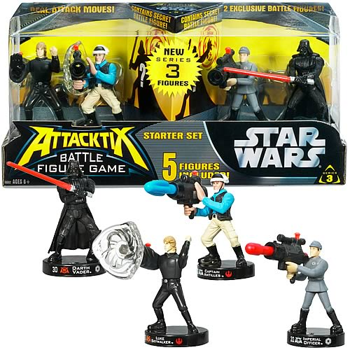 Star Wars Attacktix Intro Starter Set