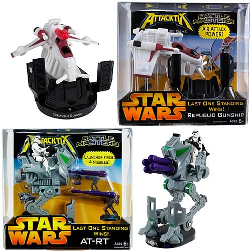 Star Wars Attacktix Battle Masters Ast. 2