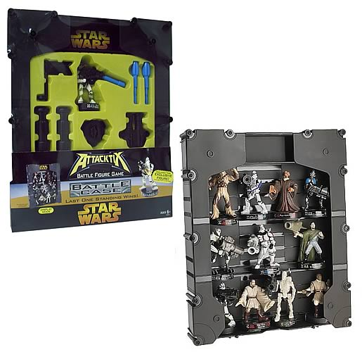 Star Wars Episode III Attacktix Battle Carry Case