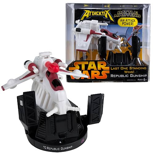 Star Wars Attacktix Battle Master Republic Gunship
