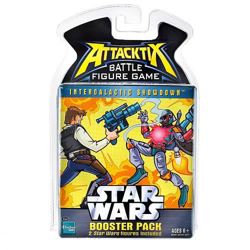 Star Wars Attacktix Series 4 Booster Pack Set