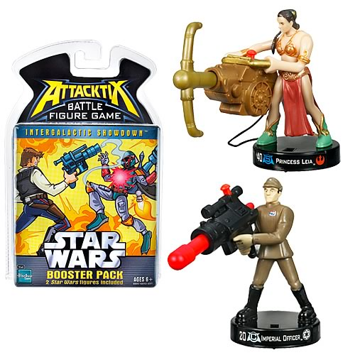 Star Wars Attacktix Game: Intergalactic Showdown Booster