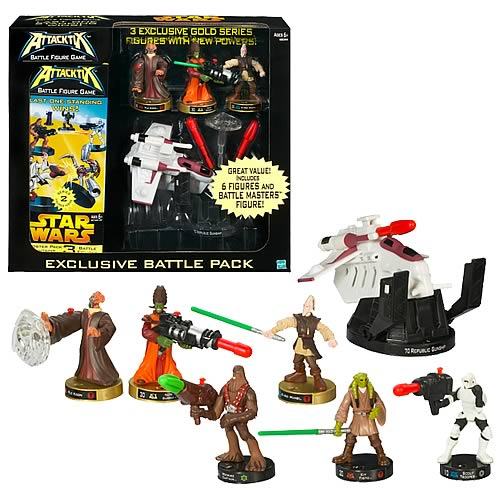 Star Wars Attacktix Exclusive Battle Figure Pack