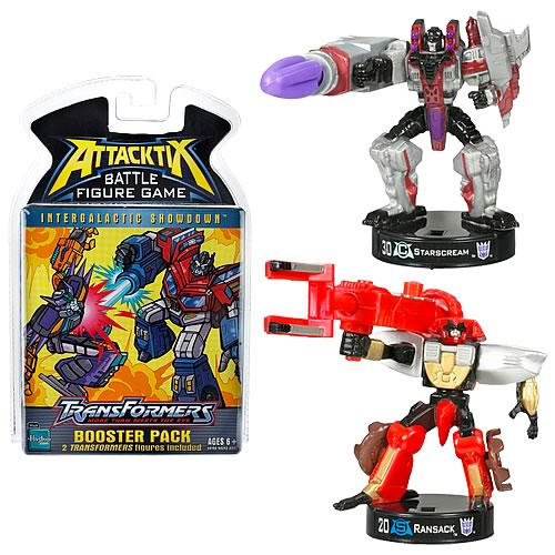Transformers Attacktix Series 1 Booster Pack