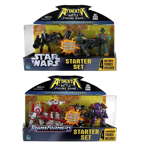 Star Wars vs. Transformers Attacktix Starter Case