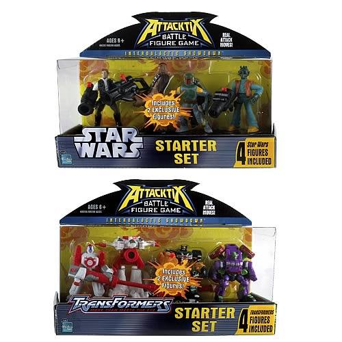 Star Wars vs. Transformers Attacktix Starter Set