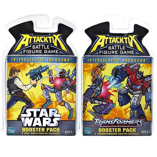 Star Wars vs. Transformers Attacktix Series 1 Rev. 2 Case