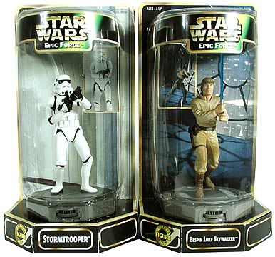Epic Force Stormtrooper & Luke