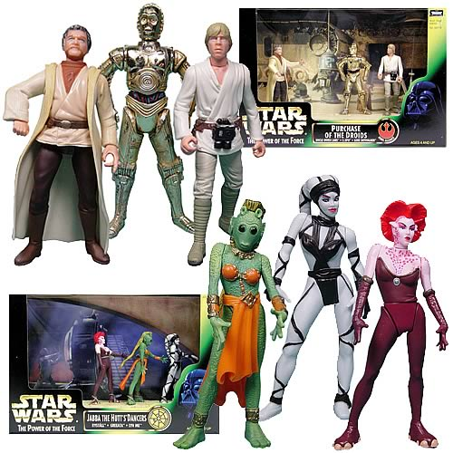 Star Wars Purchase of the Droids & Jabba's Dancers Figures