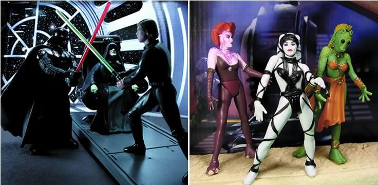 Final Jedi Duel & Jabba Dancer