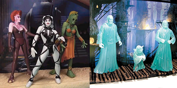 Jedi Spirits & Jabba Dancer