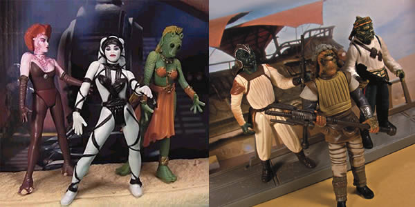 Skiff Guards & Jabba Dancer