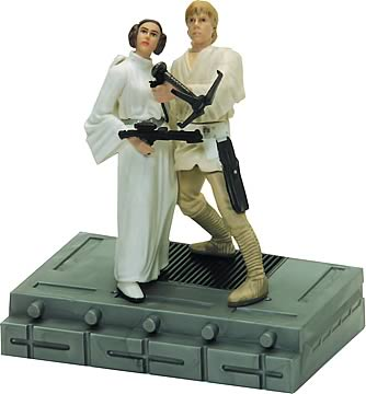 Autographed 25th Luke & Leia