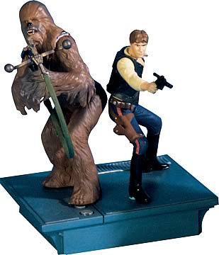 Star Wars 25th Anniversary Han & Chewbacca Action Figures