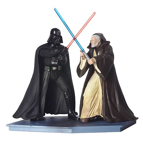 Star Wars 25th Anniversary Obi-Wan vs. Darth Vader Figures