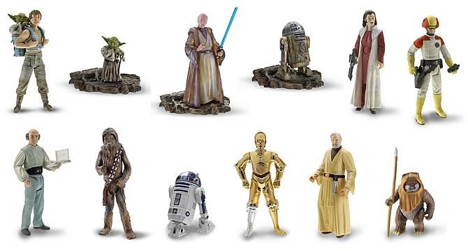 Original Star Wars Toys : Original trilogy basic figures wave hasbro star