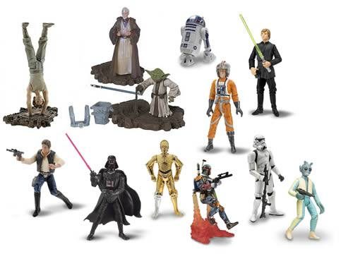 Original Trilogy Basic Figures Wave 8 & 9 Alt.