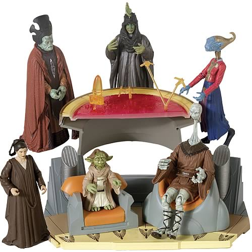 Star Wars Saga Scene Action Figures Wave 2 Set
