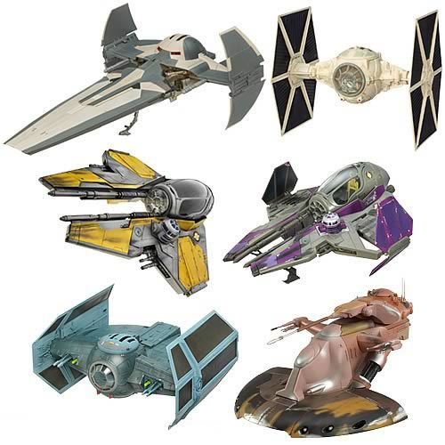 Star Wars Saga Collection Vehicles Wave 8 Revision 1