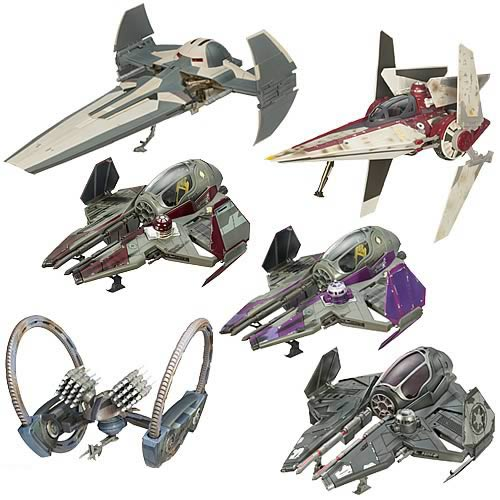 Star Wars Saga Collection Vehicles Wave 8 Revision 2