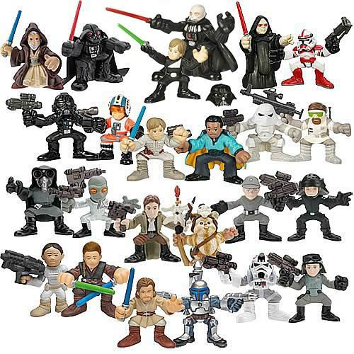 Star Wars Galactic Heroes 2007 Wave 4